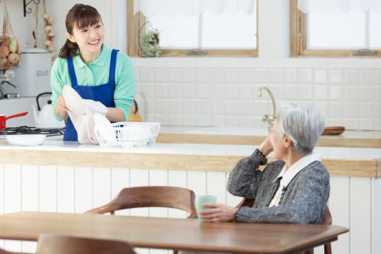 ご高齢者と家族の暮らしの「お手伝いサービス」